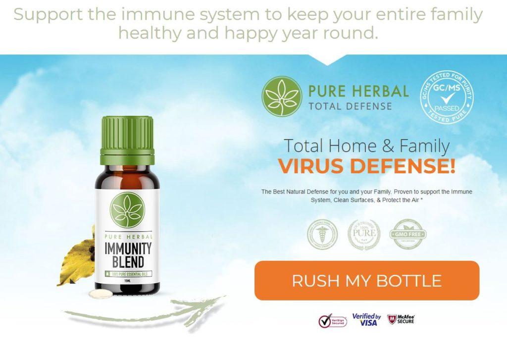 Pure Herbal Immunity Blend CBDOil
