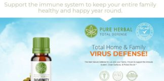 Pure Herbal Immunity Blend CBD Oil