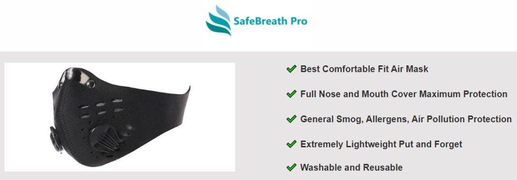 SafeBreath Mask