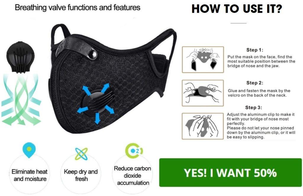 SafeBreath Pro Mask Price