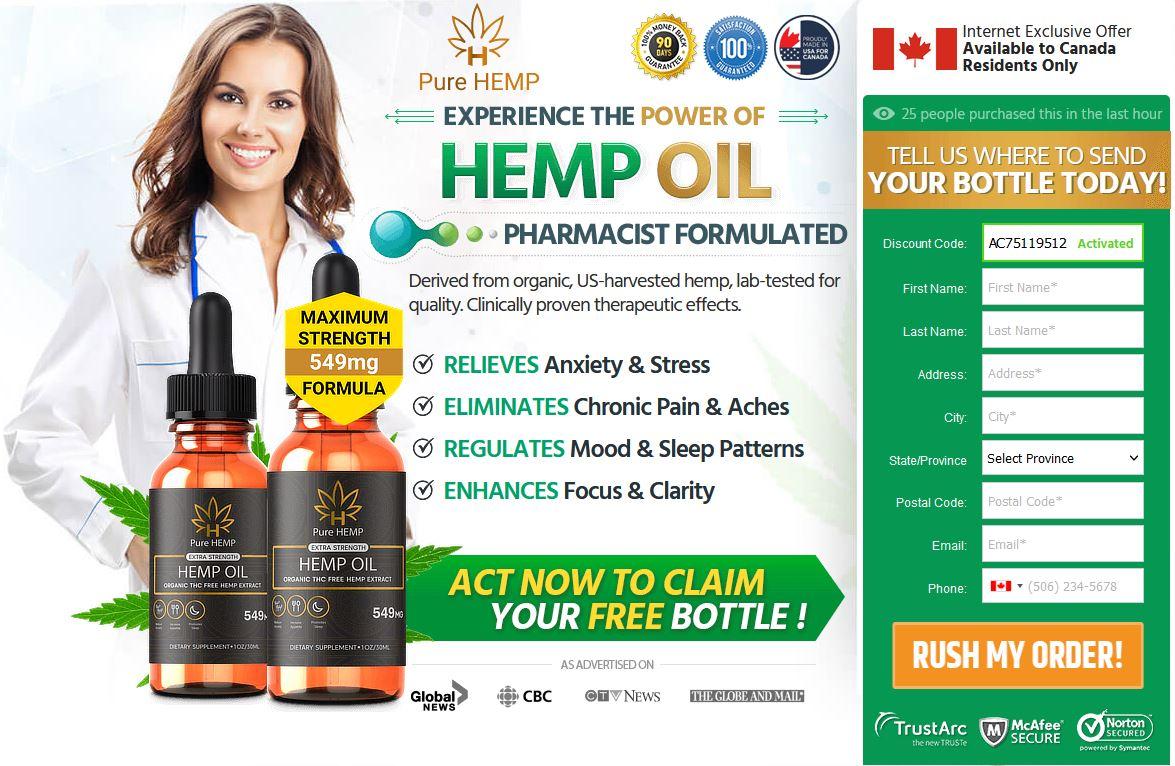 Pure Hemp Extra Strength CBD Oil