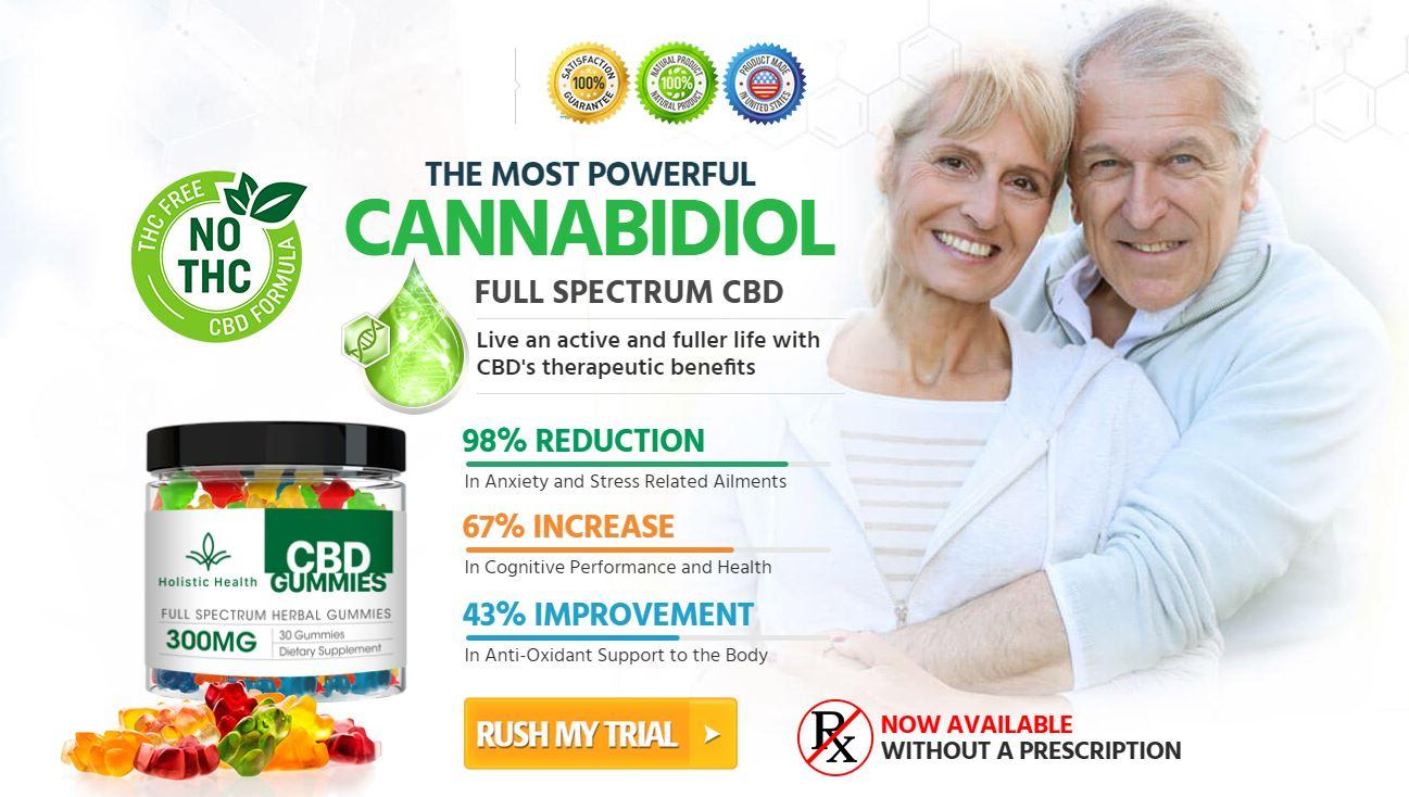 Holistic Health CBD Gummies Review: Full Spectrum CBD Gummies Price