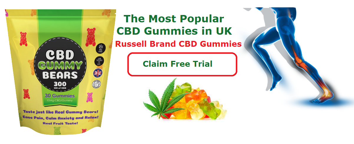 The Russell Brand CBD Gummies UK from For The Ageless