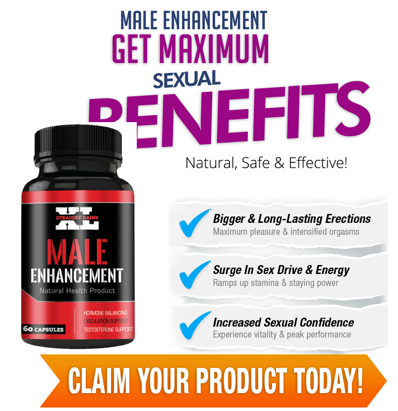Straight Gains XL Male Enhancement Pills, Results, Work, Dosage & Price